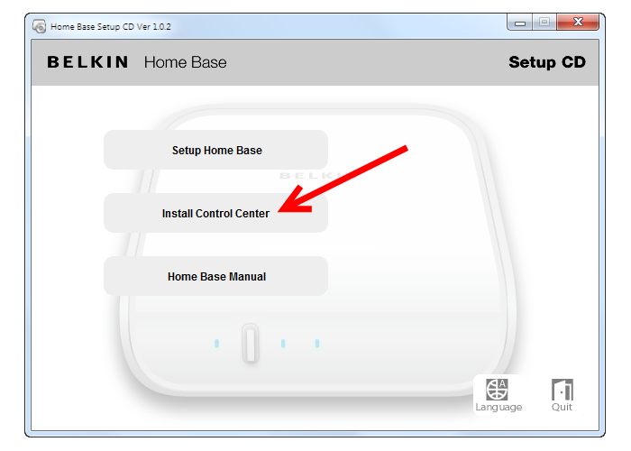 Belkin Home Base install control center.png